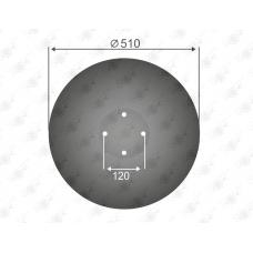 Диск рабочий 510/5-LK 120 Окр.по отв.120