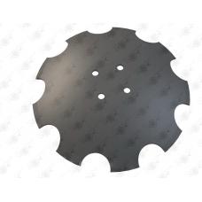 Диск зубчатый,d 460 х 4. 4 отв. d 11,5 мм
